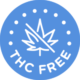Ace Drops All Natural Premium CBD THC Free Certified Badge